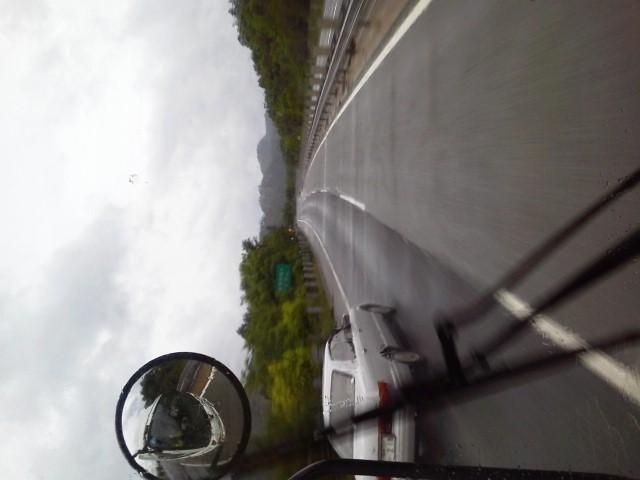 岡山に移動中